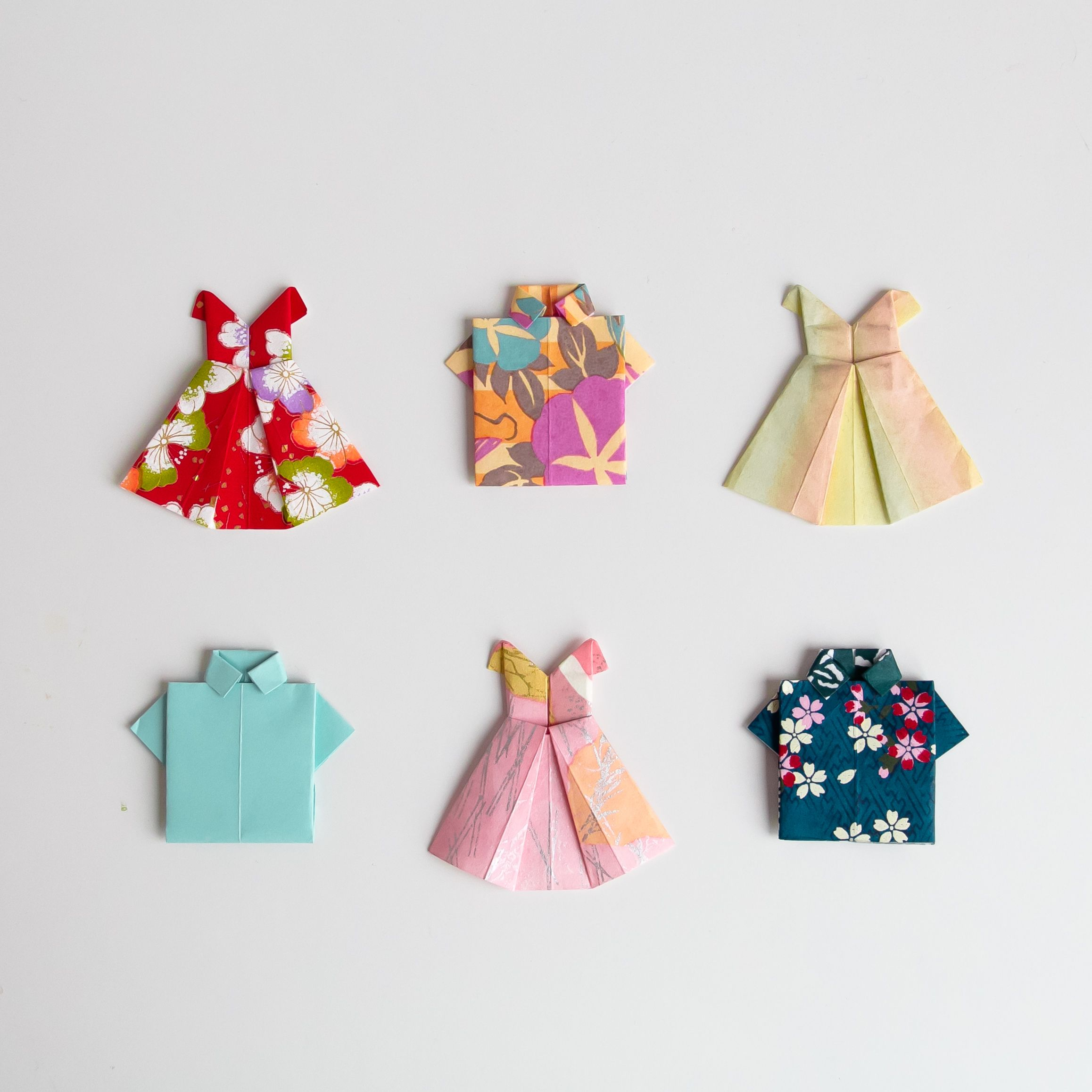 Paperlust DIY Origami Cake Toppers