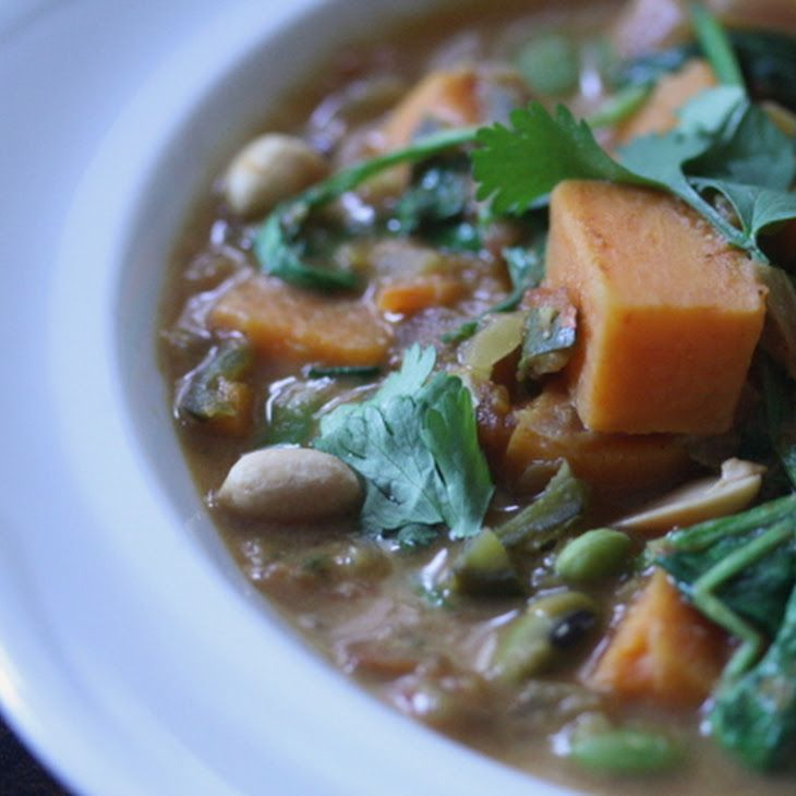 Vegetarian African Peanut Stew Recipe