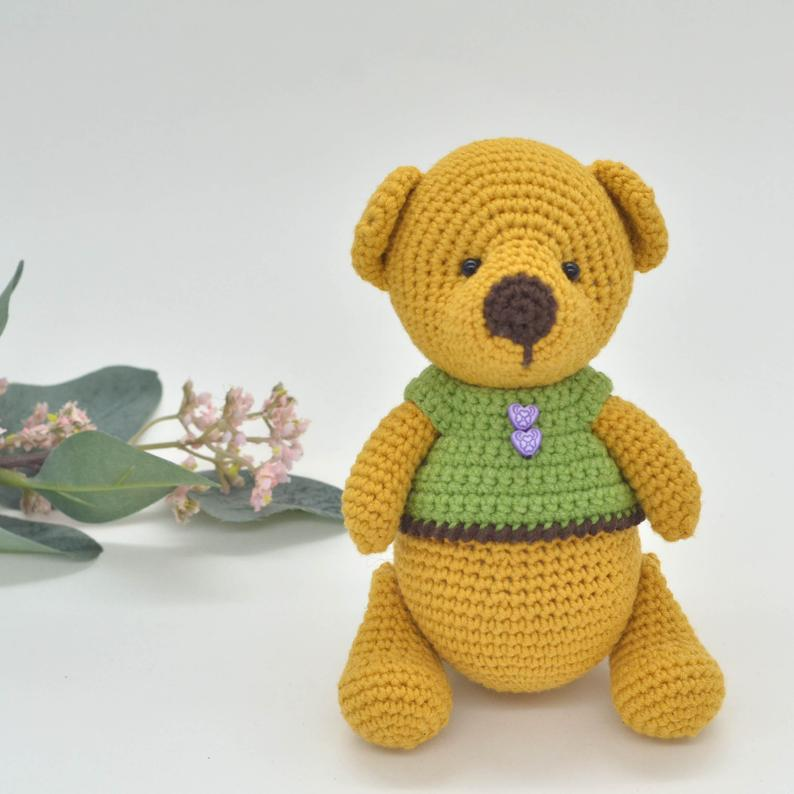 amigurumi bear pdf, easy bear pattern, amigurumi cute bear ... | 794x794
