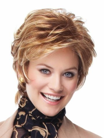 Vantage Point 100% Human Hair Lace Wig ( India Reme Hair Wig) Multiple Colors Available Ladies Short Wig by Eva Gabor