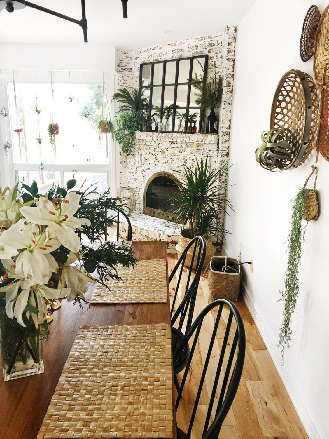 This Bright Boho House Has 75 House Plants… All With Their