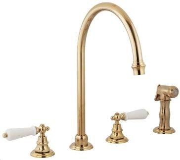 Harrington Brass 3311133 Mayfair 4Hole Kitchen Faucet Includes Magnificent 4 Hole Kitchen Faucet Inspiration