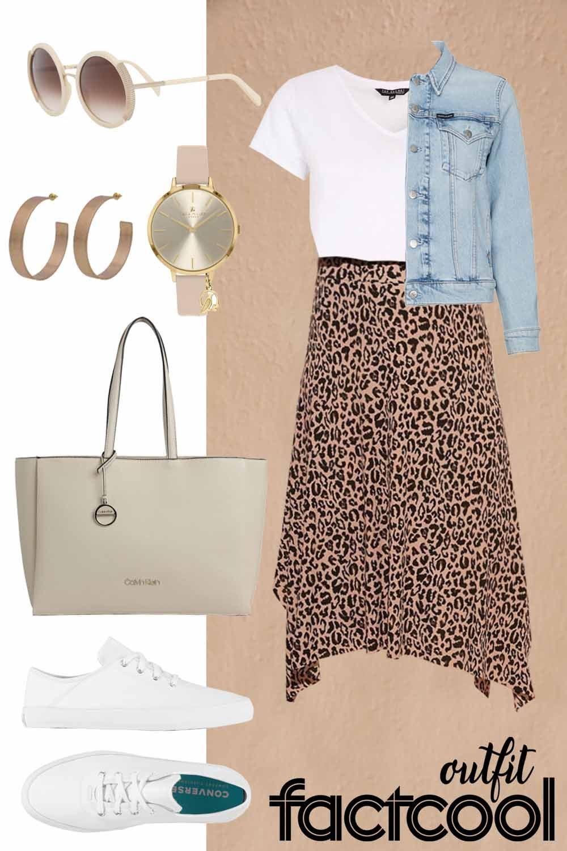 #summer #summeroutfit #summerfashion #womensoutfit #womensummeroutfit #skirt #skirtoutfit #printedskirt #leopardskirt #animalskirt #fashioninspo #outfitinspo #ootd #factcooloutfit