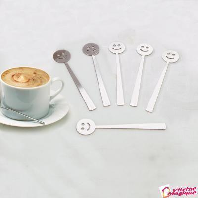 6 lingurite zambitoare pentru cafea - Servirea mesei - Bucatarie