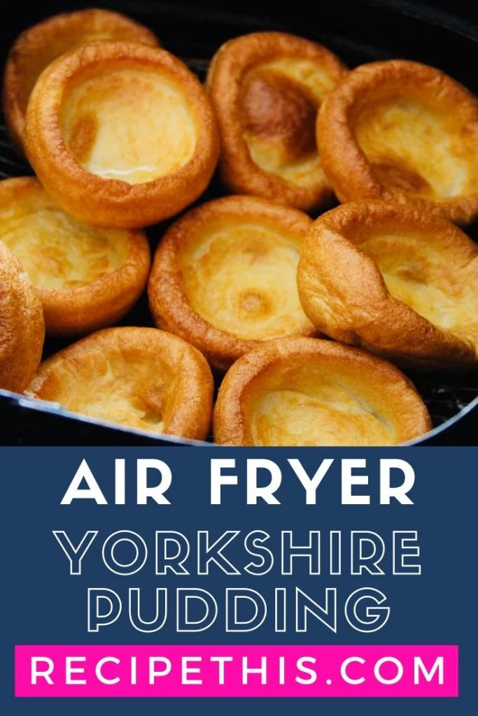 Air Fryer Yorkshire Pudding Yorkshire Pudding Recipes Yorkshire Pudding Recipes
