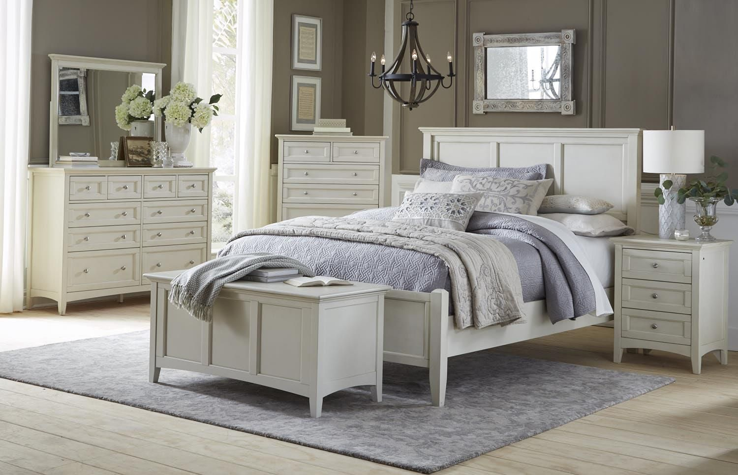 The Northlake Bedroom collection by AAmerica. Available