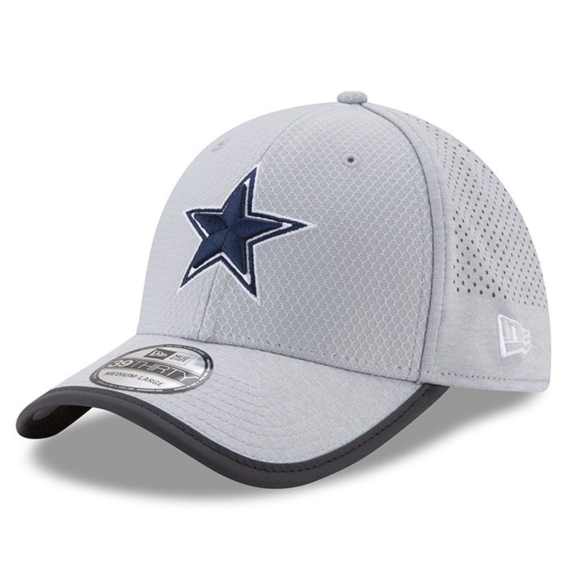 the best attitude ab640 bba09 Dallas Cowboys New Era Youth 2017 Training Camp Reverse 9TWENTY Adjustable  Hat - Gray