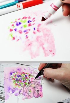 Neat Tips For Using Inexpensive Water Based Kids Markers By