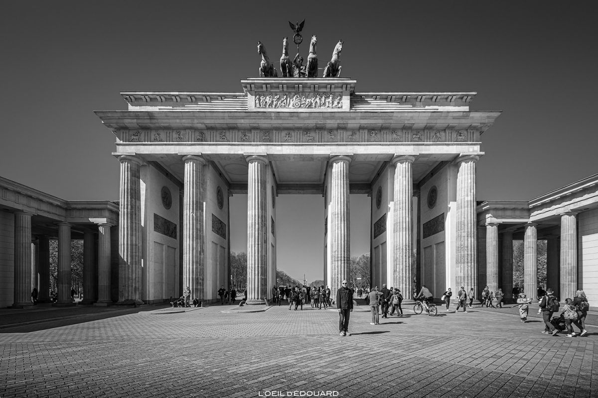 Visiter Berlin En 3 Jours Mes Incontournables A Voir Blog Voyage Trace Ta Route Visiter Berlin Berlin Porte De Brandebourg