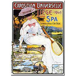 @Overstock.com - Fernand Exposition Universelle Liege Canvas Poster - Artist: FernandTitle: Exposition Universelle LiegeProduct type: Canvas  http://www.overstock.com/Home-Garden/Fernand-Exposition-Universelle-Liege-Canvas-Poster/5084574/product.html?CID=214117 $36.44