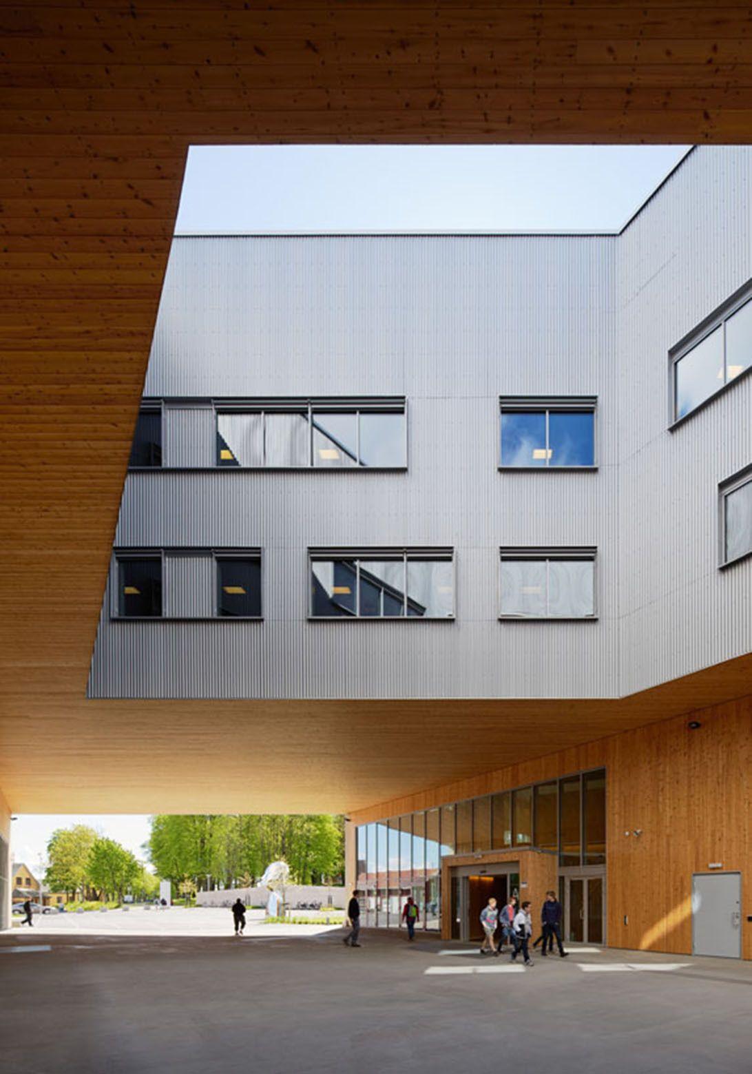 Gallery Of Færder Technical High School White Arkitekter 1
