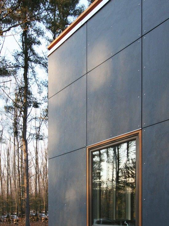 Exterior House Designs Exterior Modern With Concrete Patio Flat Roof: Fachadas De Casas, Fachadas Comerciais, Exterior Moderno