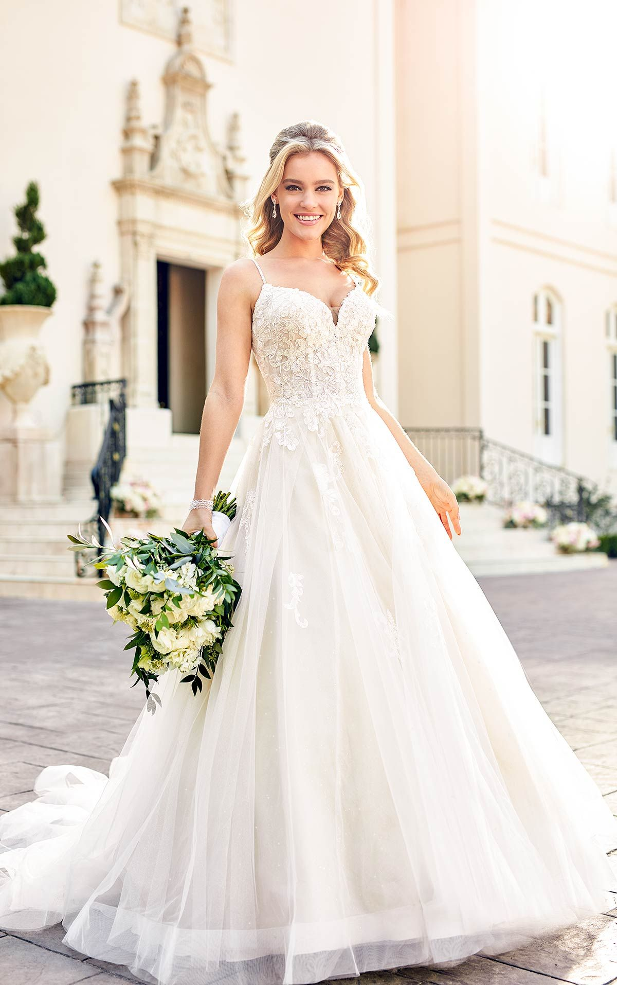 Sparkly Ballgown With Glitter Tulle Stella York Wedding Dresses In 2020 Ball Gowns Wedding Ball Gown Wedding Dress Wedding Dress Prices