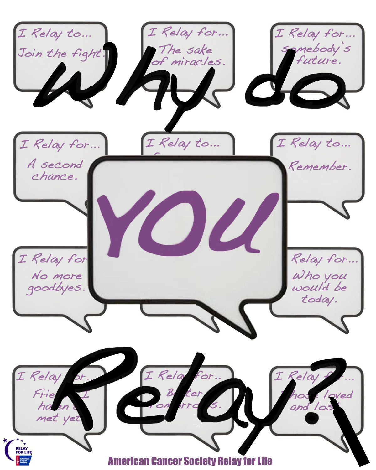 Relay For Life Quotes Why Do You Relay  Relay Graphics & Videos  Pinterest