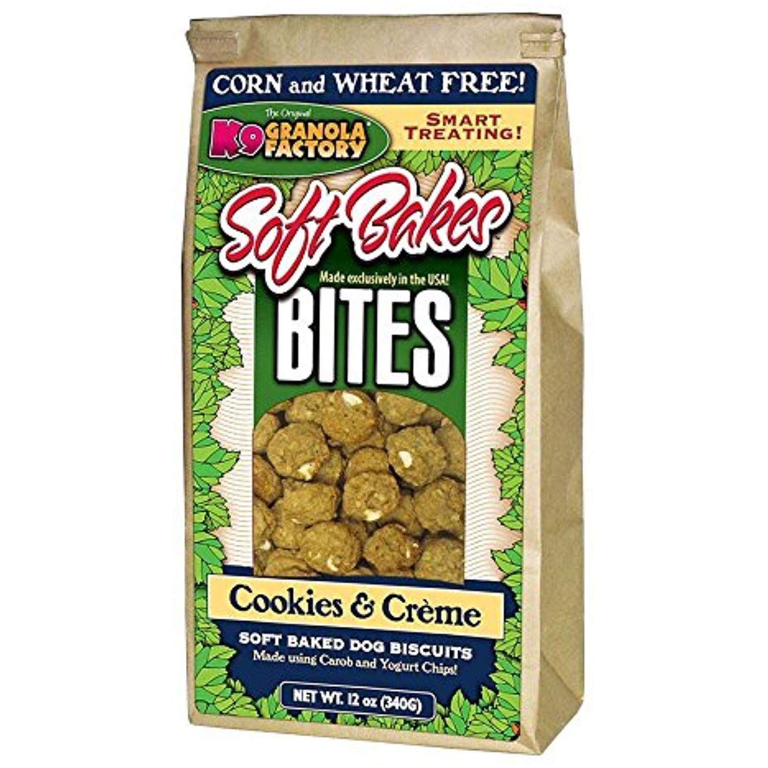 K9 Granola Factory Soft Bakes Cookies and Creme Formula 12