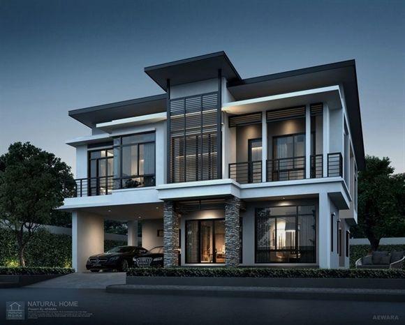 perspective aewara exterior also the war against modern house design philippines home rh pinterest