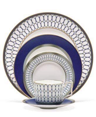 Lauren Ralph Lauren Dinnerware Mandarin Blue Collection Fine