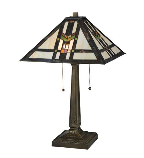 Prairie Wheat Stained Glass Table Lamp From Ruby Plaza Lamp Table Lamp Geometric Lamp