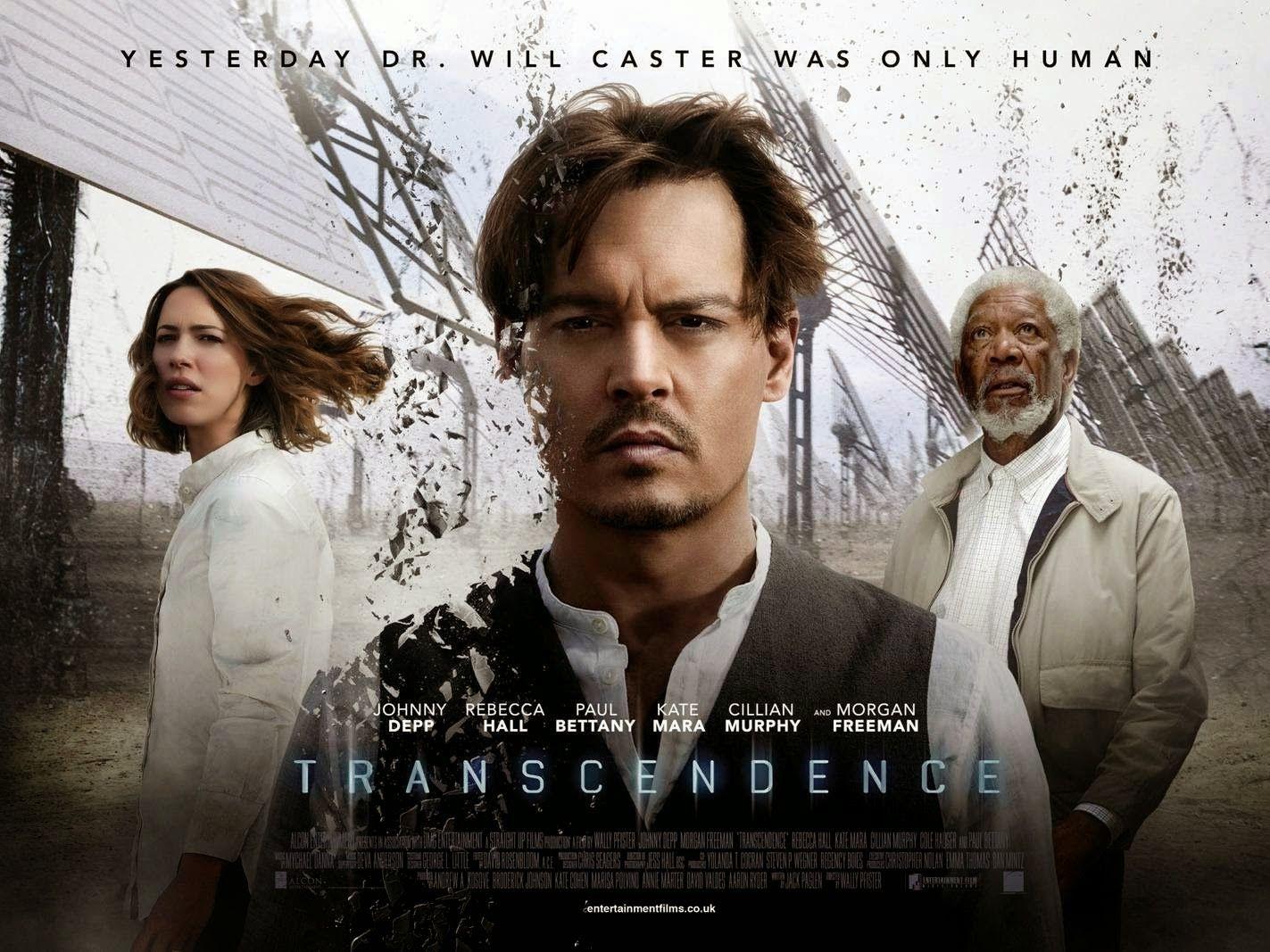 Transcendence Ciencia Ficción Con Jhonny Depp Como Protagonista Películas De Johnny Depp Cine Peliculas Divertidas