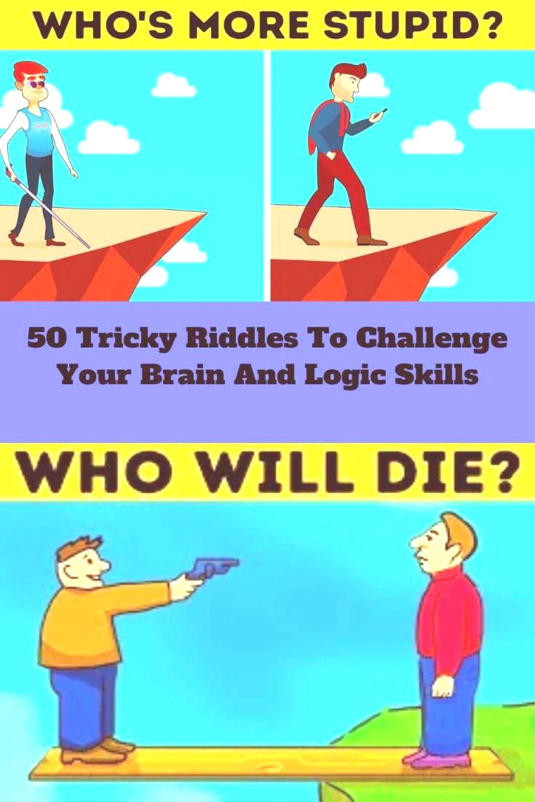 50 Tricky Riddles To Challenge Your Br