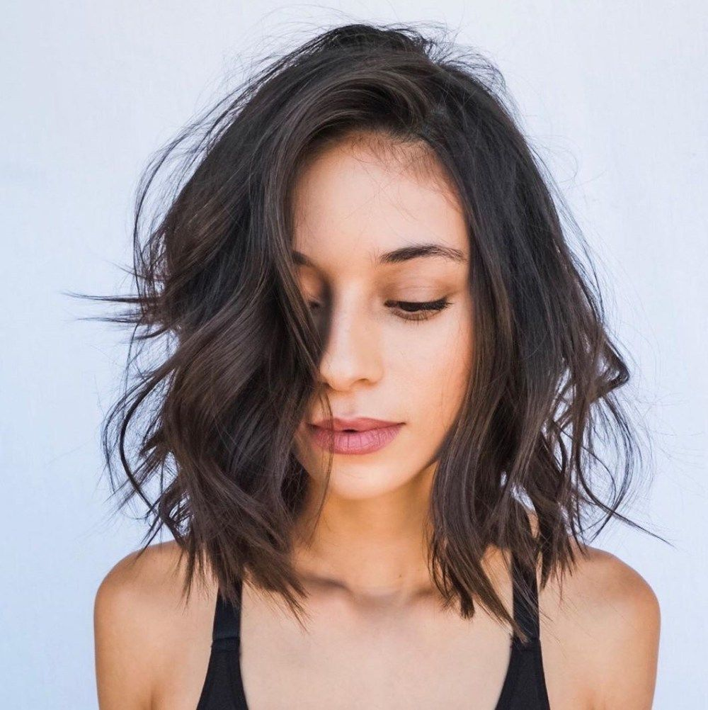 50 super flattering haircuts for oval faces oval face