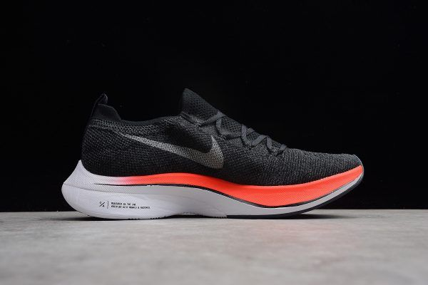 2a290f67e2de Nike Vaporfly 4% Flyknit Blue Fox Black-Bright Crimson AJ3857-400 in ...