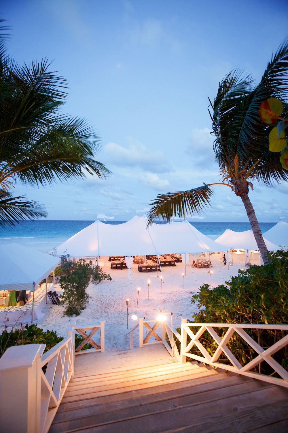 all inclusive beach wedding destinations%0A Destination Wedding in Pink Church on Harbour Island in the Bahamas