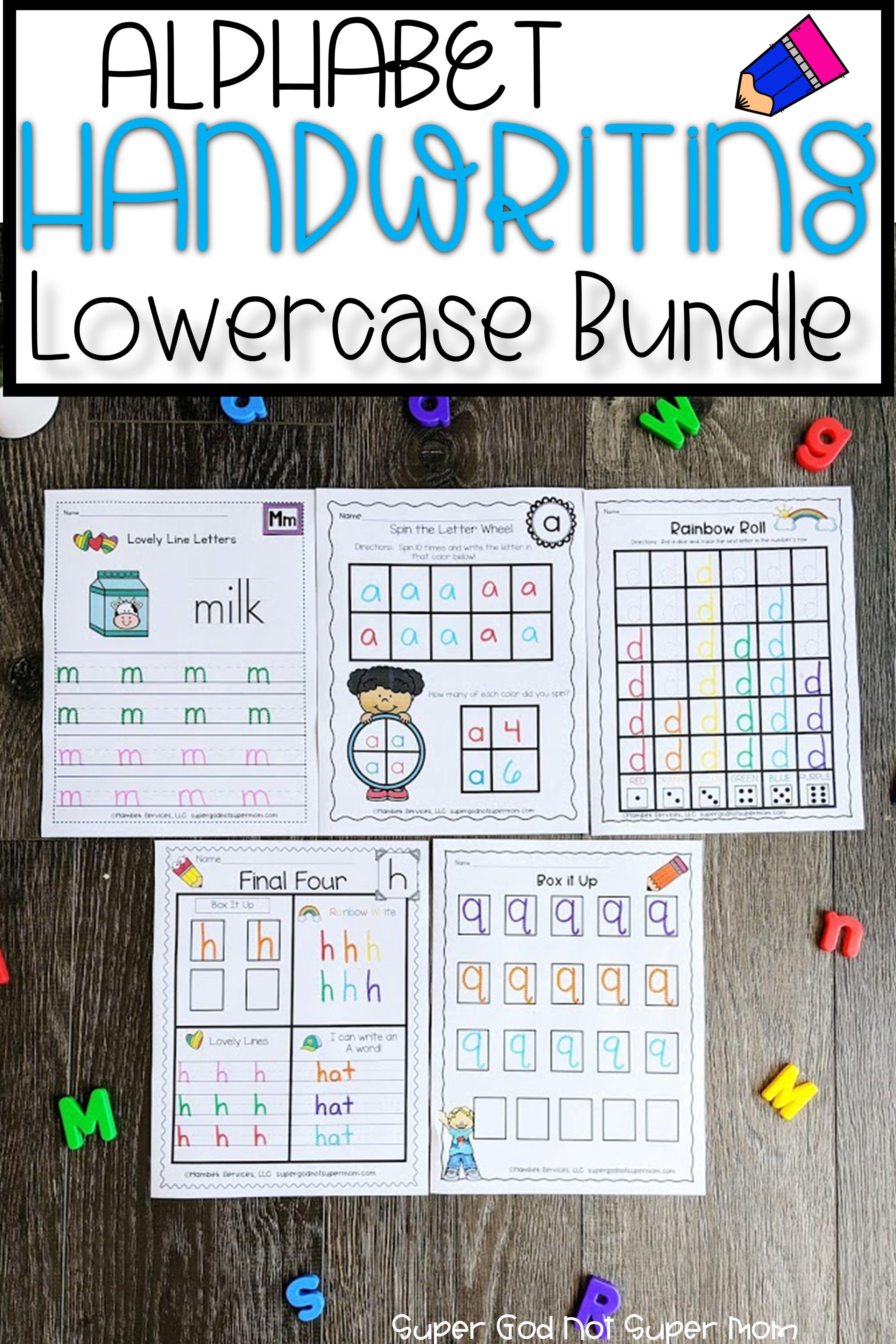 Alphabet Handwriting Worksheets Super God Not Super Mom Alphabet Activities Preschool Alphabet Preschool School Activities [ 4500 x 3000 Pixel ]