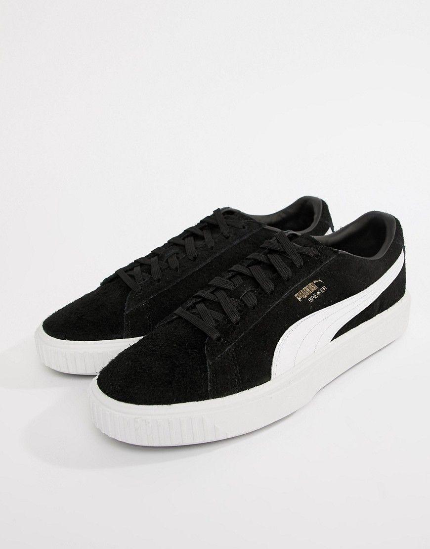 Breaker Suede Sneakers In Black