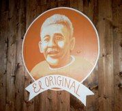 Tamale Man El Original mural, El Sereno, CA painted by L Star Murals (www.LStarMurals.com)