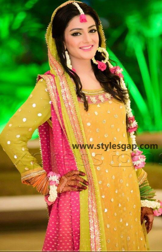 Mayun Bridals Makeup Looks Dresses Designs 2019 2020