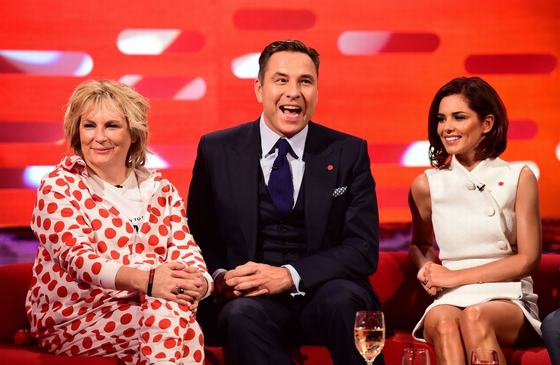 Cleaning ladies mrs overall on the graham norton show this week and - Cheryl Cole On Graham Norton Show Comic Relief Google Search