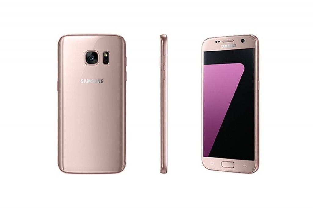Pink Gold Color Variant Galaxy S7 And S7 Edge Are Now Available In
