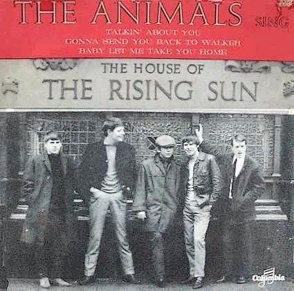 The House Of The Rising Sun Sung By The Animals Classic Gold House Of The Rising Sun Sunrise Music Album Covers