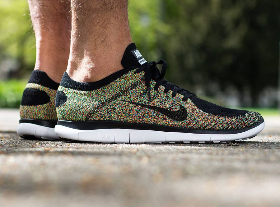nike free flyknit multicolor nsw government