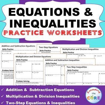 Equations homework help