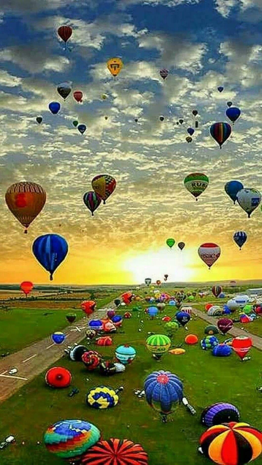 Hot Air Balloon (With images) Hot air balloon festival
