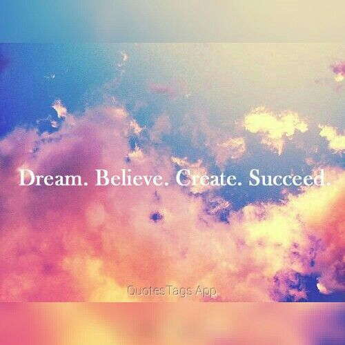 Exactly!  #dream, #dreamingbig, #dreambigger  #believe, #create, #succeed, #liveyourdreams, #free