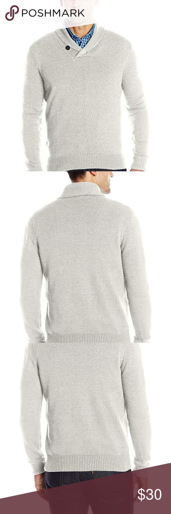 NWT Axist Men s Long Sleeve Shawl Collar Sweater 5c02dcbd0