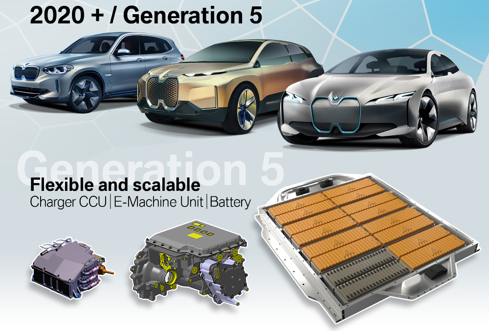 Bmw I4 Confirmed With 80 Kwh Battery 523 Hp Over 300 Miles Of Range