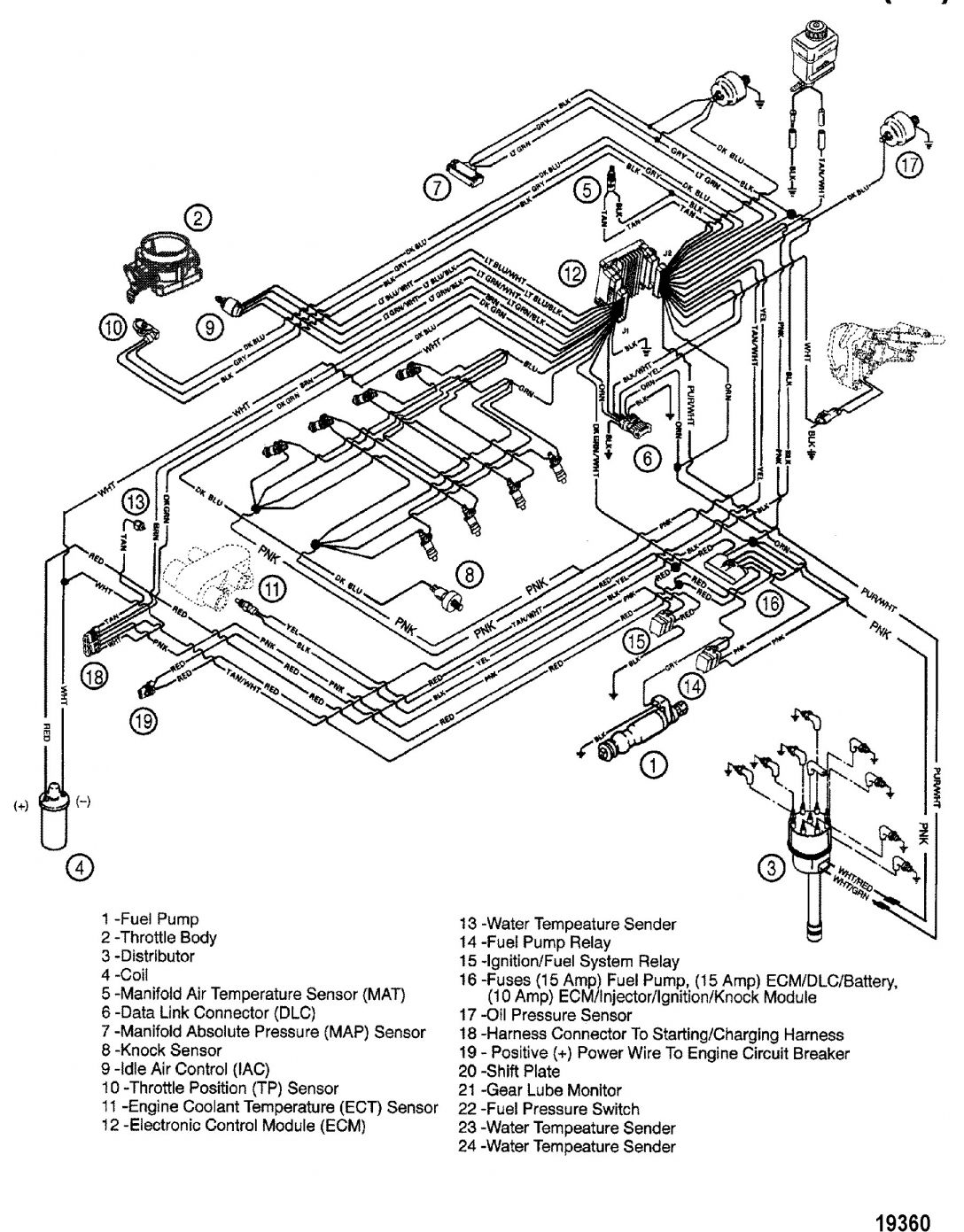 Mercruiser 140 Engine Wiring Diagram And Mercruiser Engine