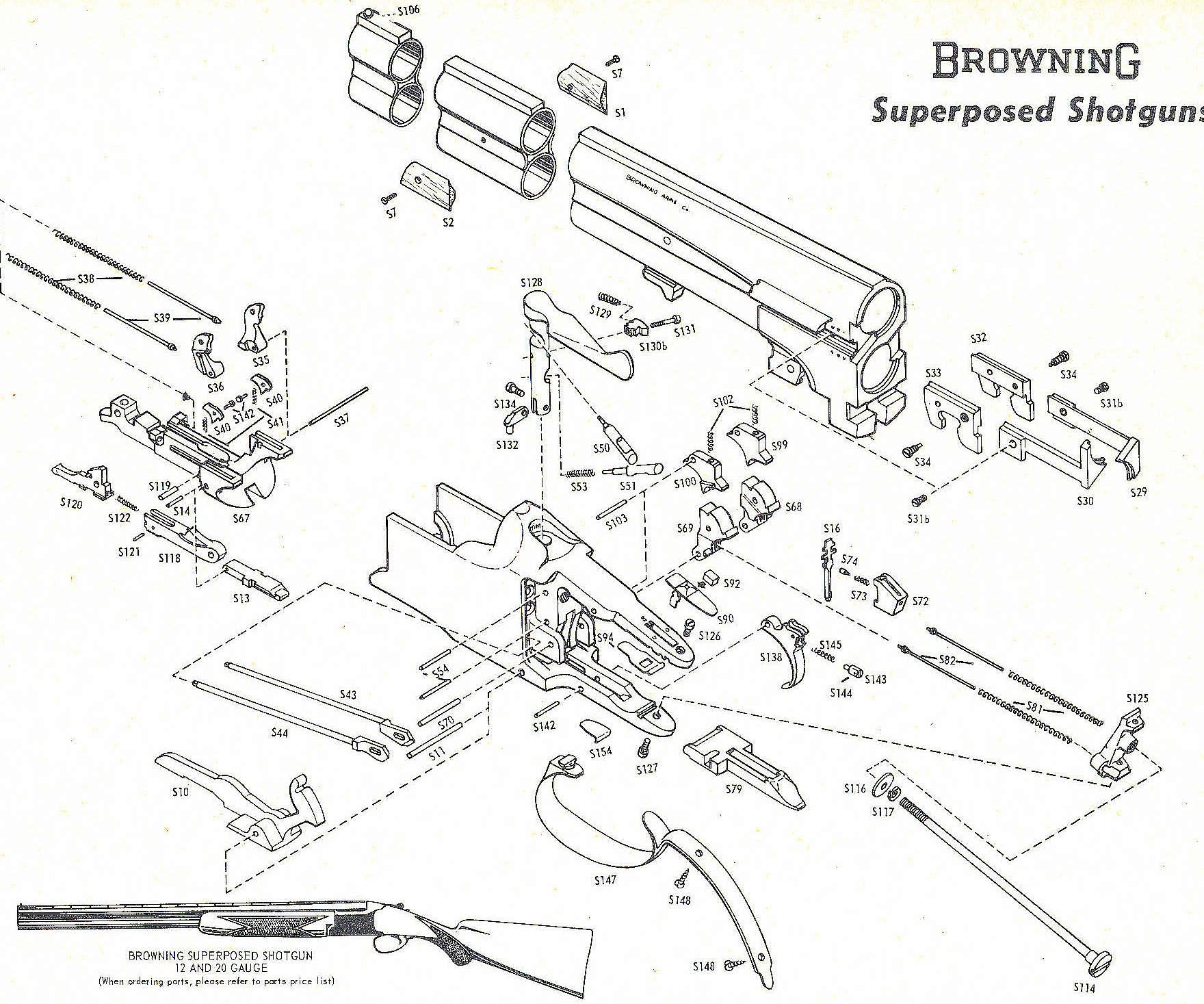 browning superposed exploded view