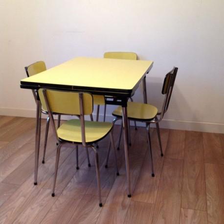 chaise et table cuisine 2d