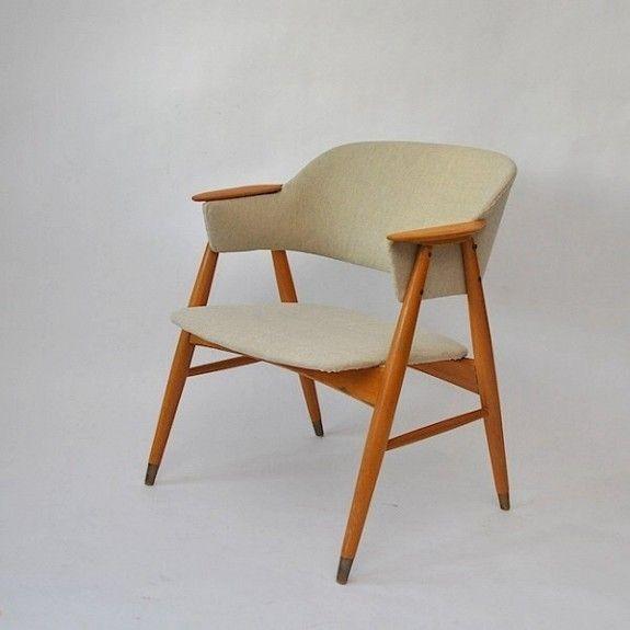 Elegant retro design lenestol | FINN.no