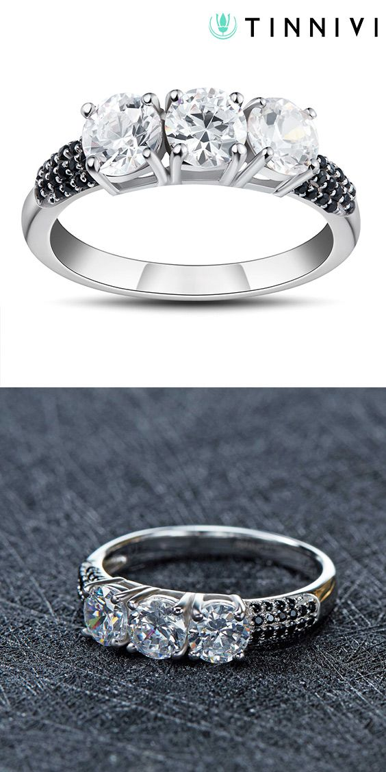 ad1cd89f60 Shop ❤️Round Cut Gemstone 925 Sterling Silver Promise Rings For Her❤️online️,  Tinnivi #Jewelry creates quality fine jewelry at gorgeous prices.