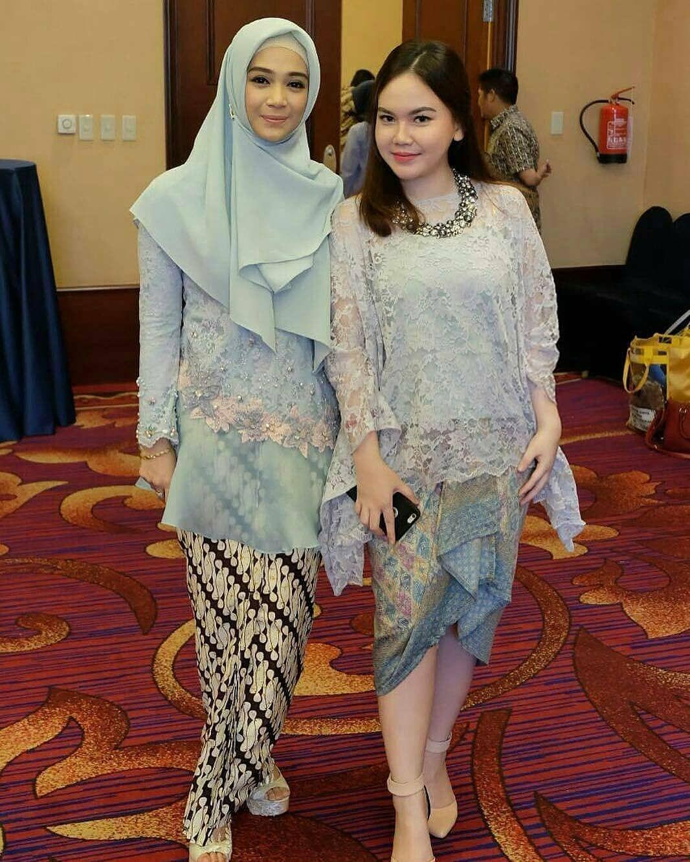 Model Kebaya Batik Modern (Simple, Hijab, Muslim, untuk Pesta