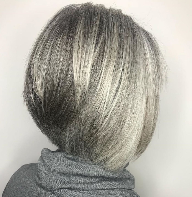60 gorgeous gray hair styles in 2019 | hair | grey hair
