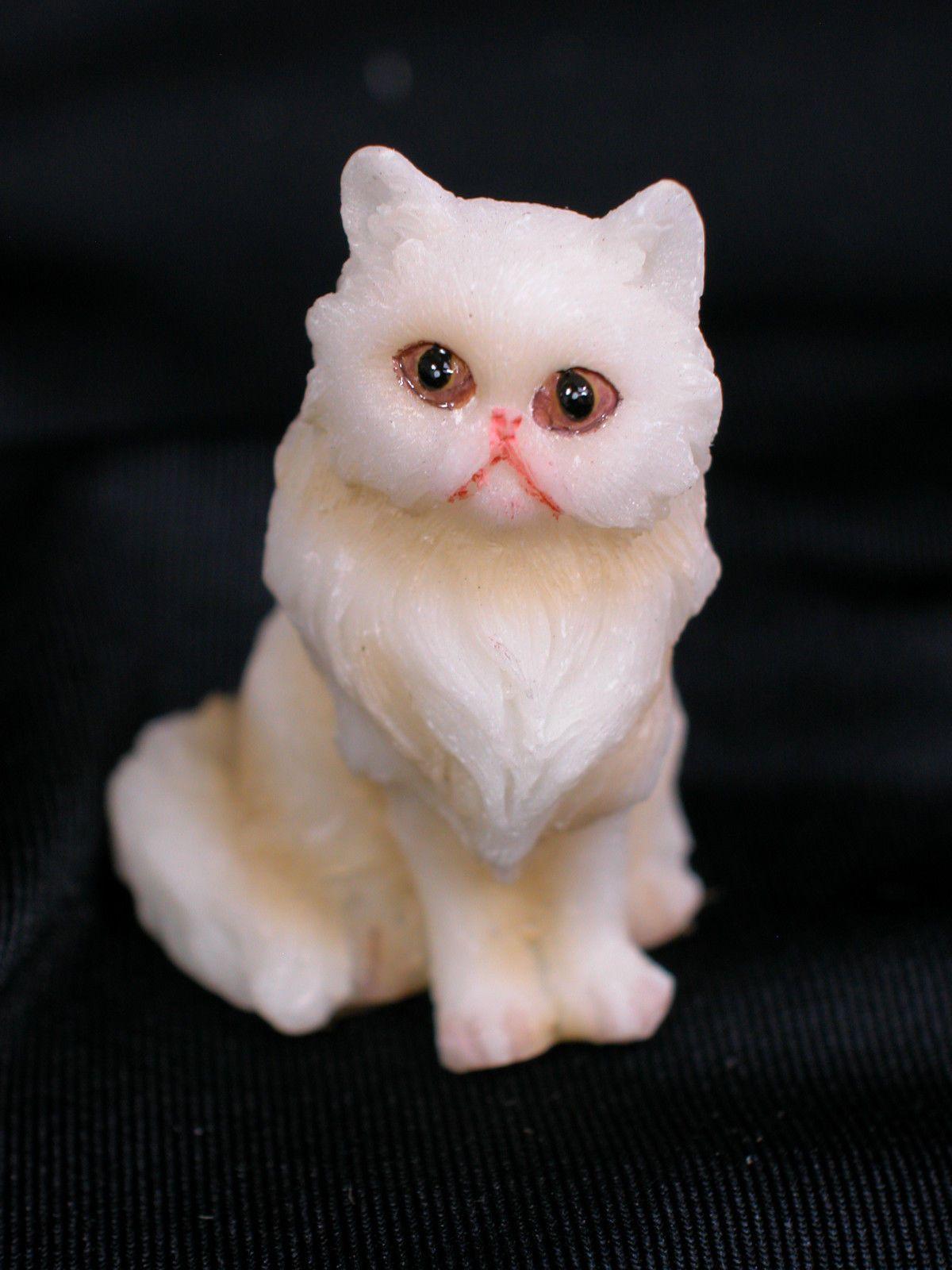 Details about Heidi Ott Dollhouse Miniature Animal Persian Cat