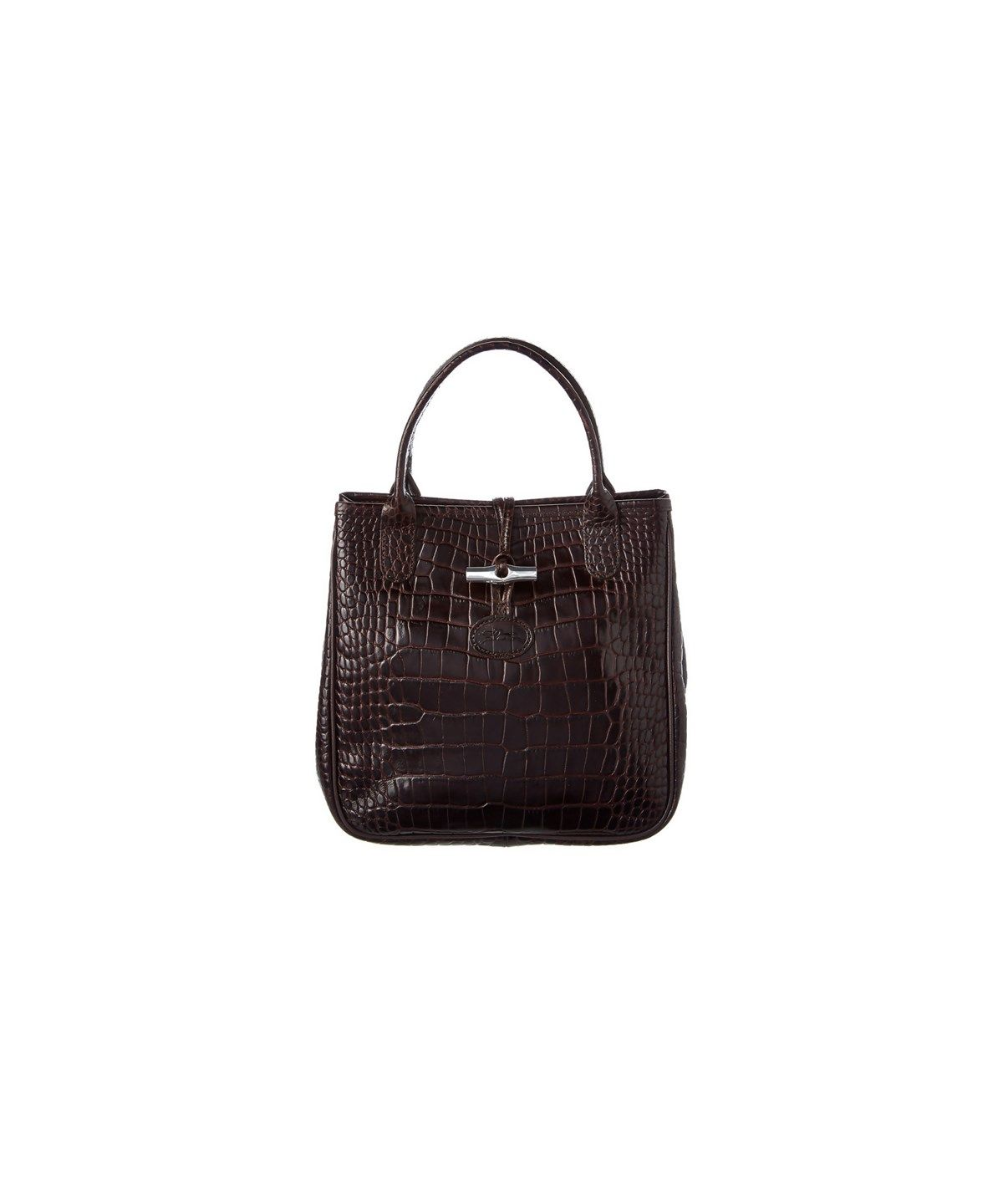 79ae523f7a94 LONGCHAMP Longchamp Roseau Croco Embossed Leather Tote .  longchamp  bags   leather  hand bags  tote