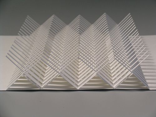 Origamic architecture 01 by hilde s via flickr models for Architecture origami